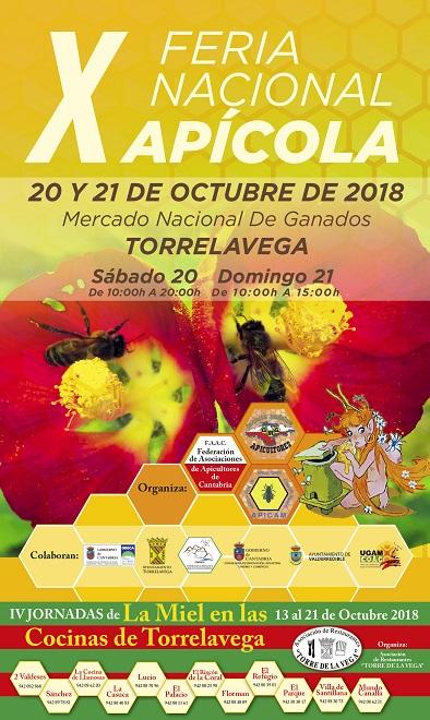 2018 cartel x feria apicola torrelavega peq