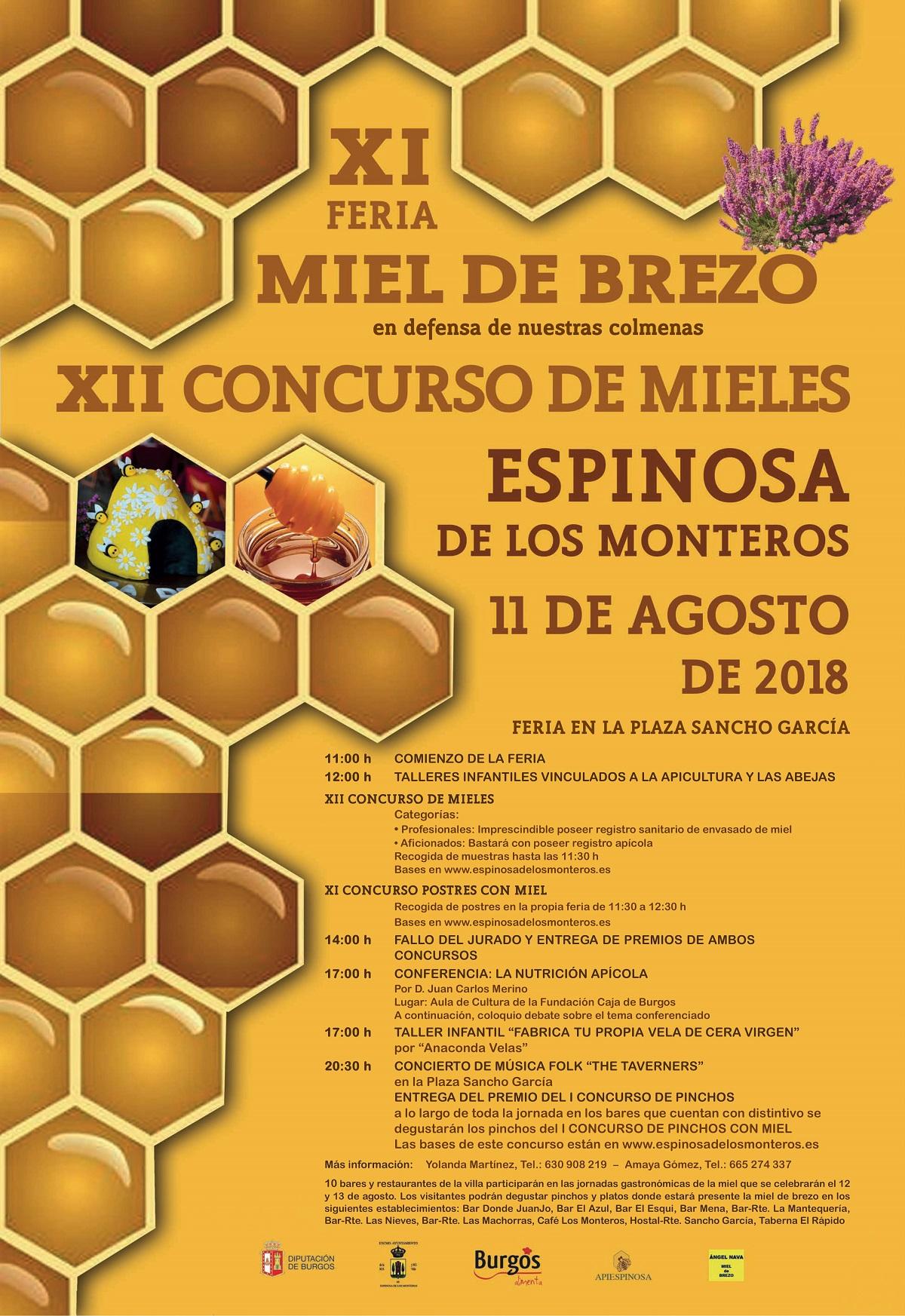 2018 cartel miel brezo espinosa de losmonteros