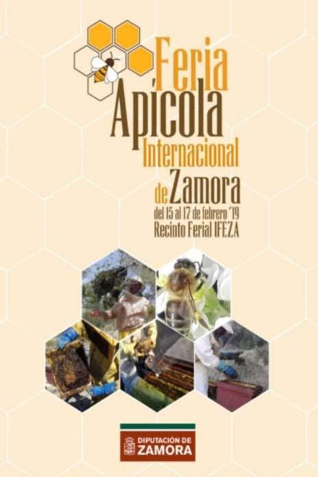 2019 zamora cartel feria apicola internacional
