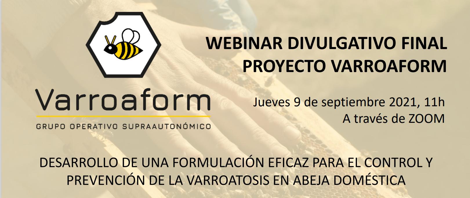 20210911 cartel webinar varroaform
