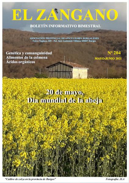 El zangano 204 portada